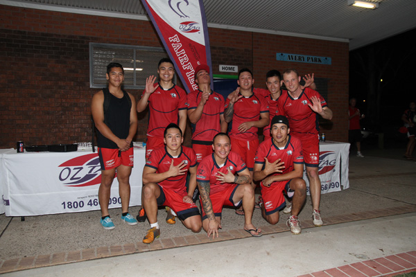 St Johns - Fairfield OzTag Mens Open Premiers Spring 2012 (Mondays)